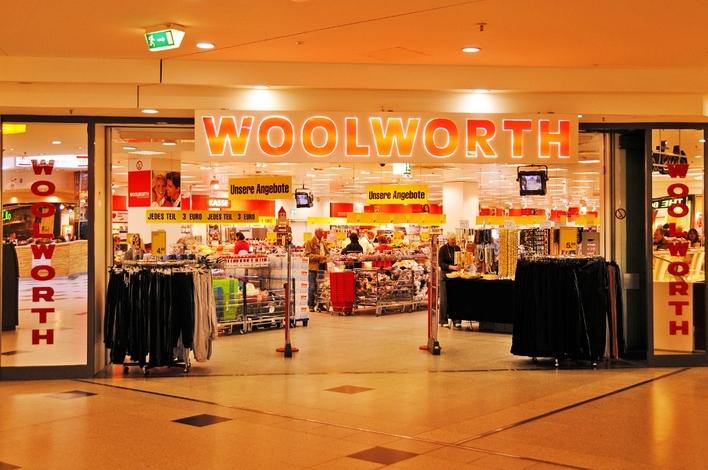 Woolworth in den Gropius Passagen