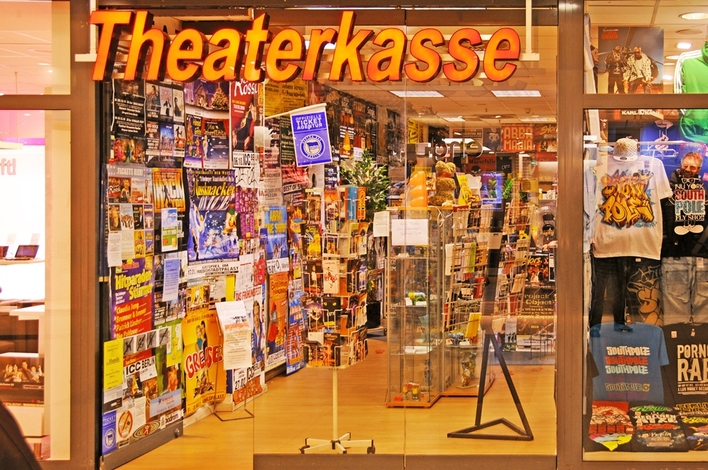 Theaterkasse Andreas Franke in den Gropius Passagen