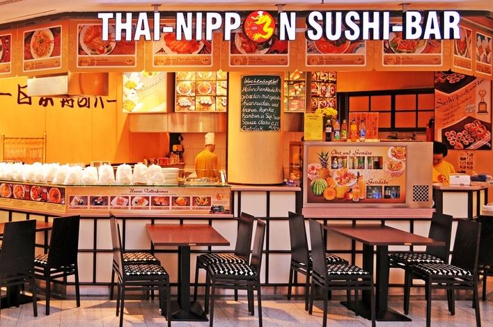Thai-Nippon Sushi-Bar in den Gropius Passagen