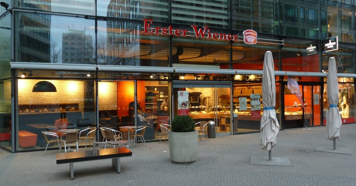 Wiener Feinbäckerei Heberer im Neuen Kranzler Eckburg
