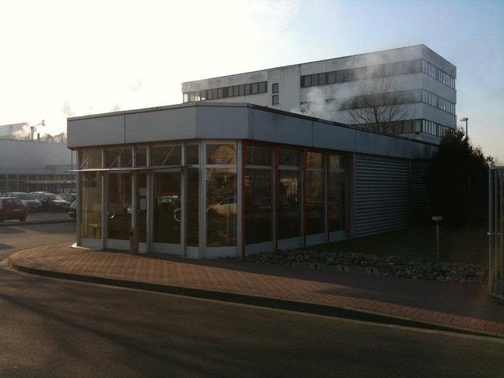 Die Harry Brot GmbH mit Bäckerei, Verwaltung und Backshop in Berlin