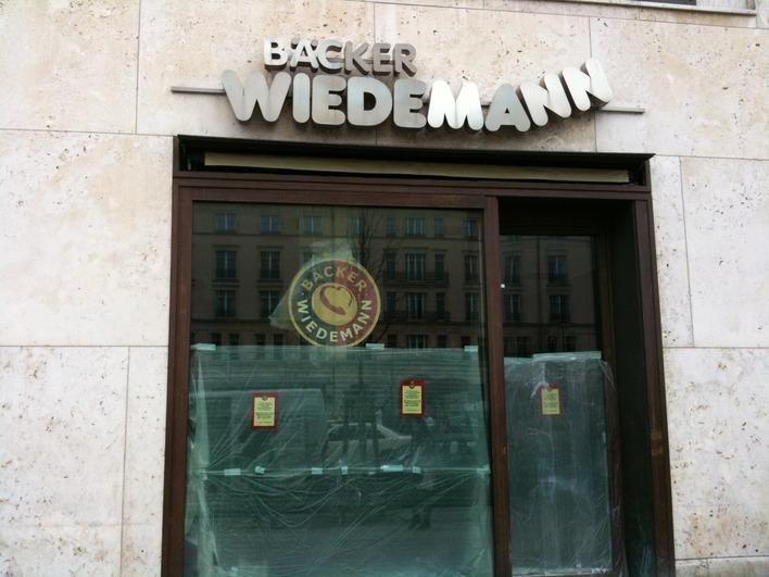 Bäcker Wiedemann - Pariser Platz