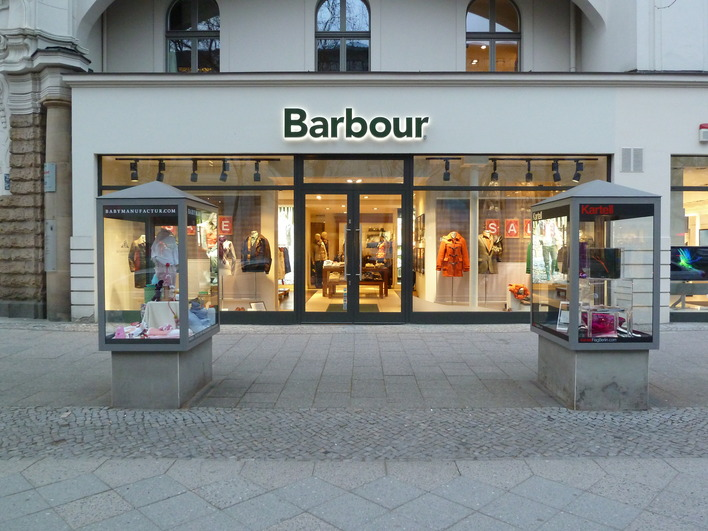 Barbour Store in Berlin-Charlottenburg