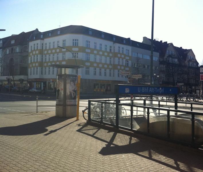 U-Bahnhof Alt-Tegel (U6)