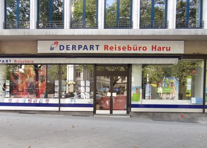 DERPART Reisebüro auf dem Kurfürstendamm