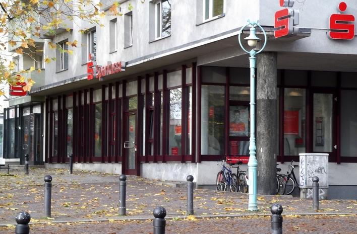 Berliner Sparkasse auf dem Kurfürstendamm