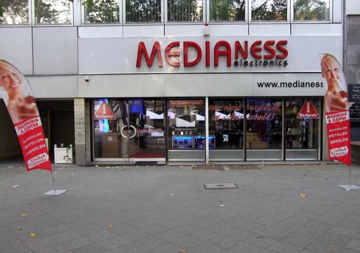 Medianess auf dem Kurfürstendamm