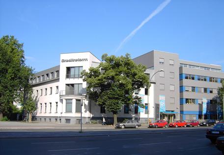 Creditreform Berlin mit Firmensitz in der Schöneberger Einemstraße