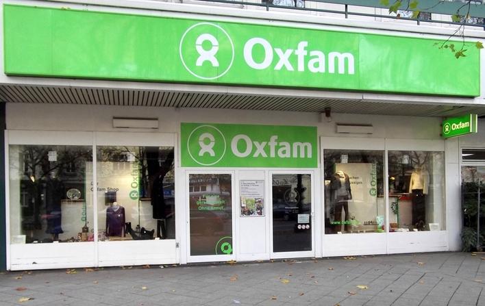 Oxfam Shop auf dem Kurfürstendamm