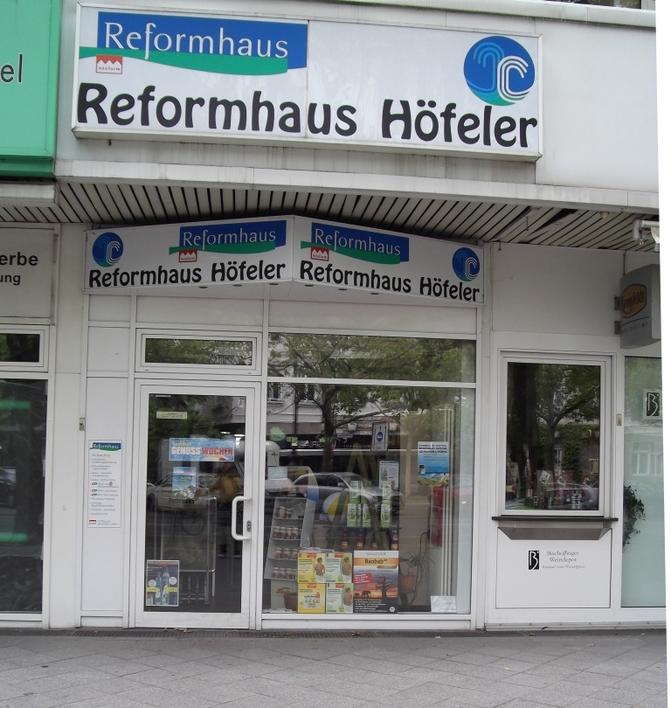 Reformhaus Höfeler auf dem Kurfürstendamm