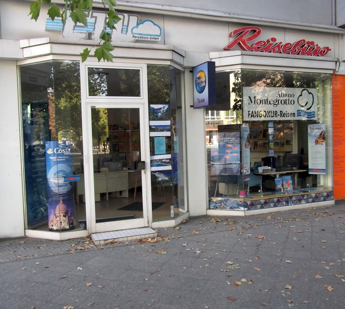 E.T.U. Reisebüro GmbH auf dem Kurfürstendamm