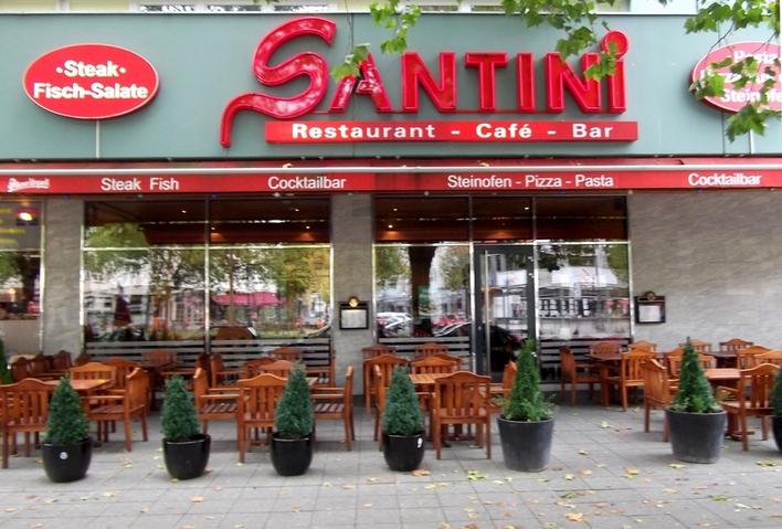 Restaurant SANTINI auf dem Kurfürstendamm