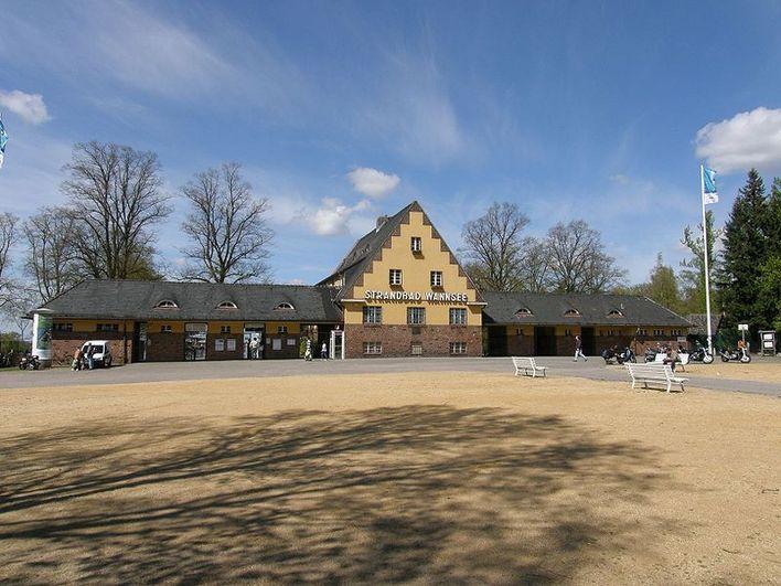 Strandbad Wannsee, Wannseebadweg, Berlin-Nikolassee