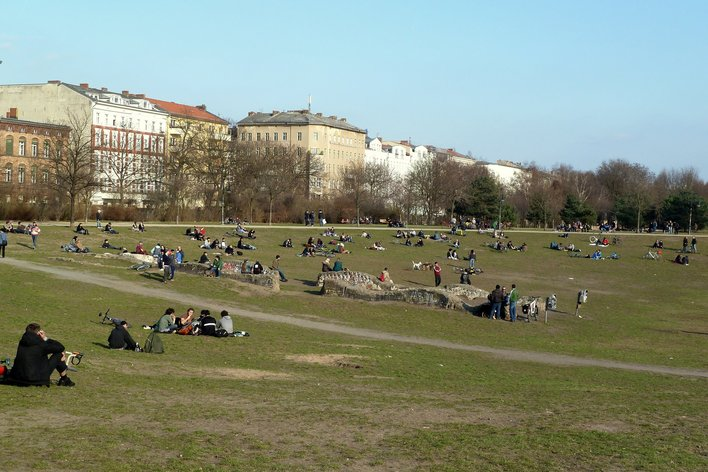 Berlin-Kreuzberg - Görlitzer Park - 22. März - 16.05 Uhr
