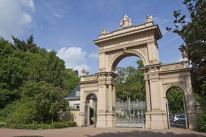 Eingangstor Bürgerpark Berlin-Pankow