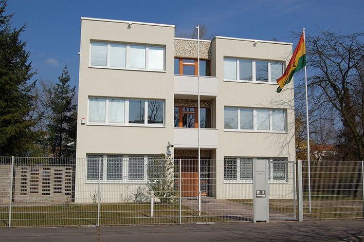 Die Botschaft der Republik Ghana in Berlin