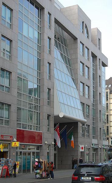 Die Botschaft der Republik Irland in Berlin