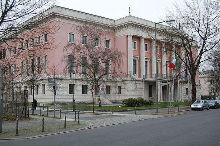 Die Botschaft der Republik Italien in Berlin