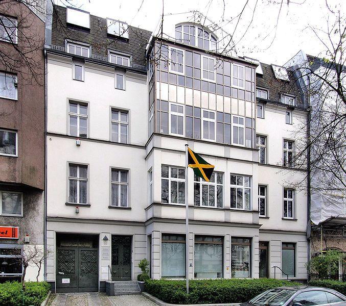 Die Botschaft der Republik Jamaika in Berlin