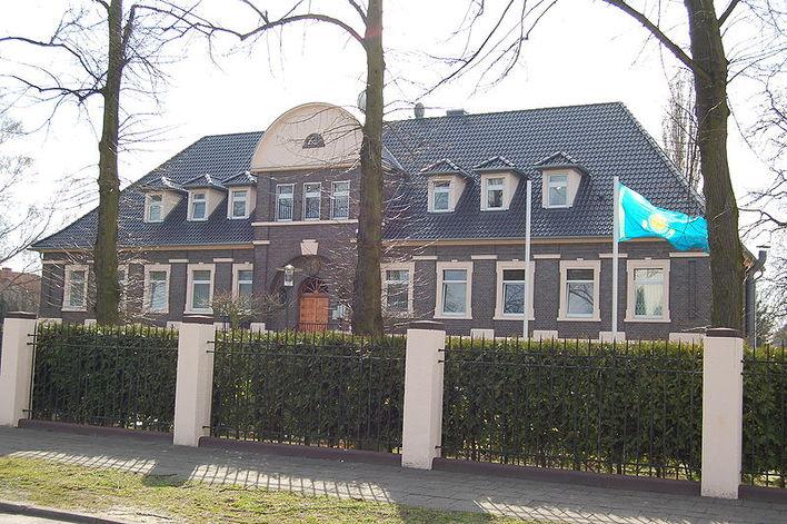 Die Botschaft der Republik Kasachstan in Berlin
