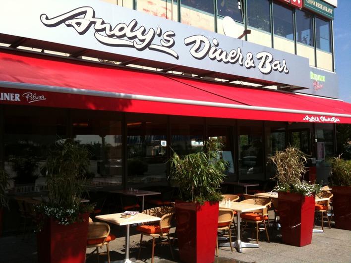Andy's Diner & Bar am Zentralen Omnibusbahnhof (ZOB)