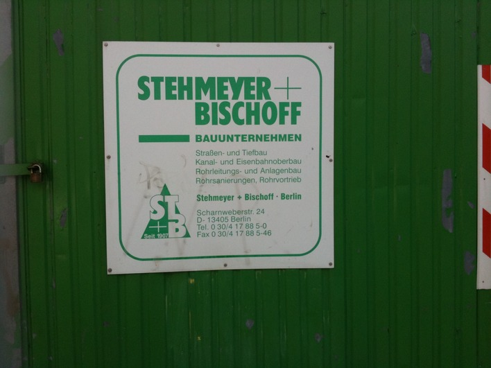 Stehmeyer + Bischoff in Berlin