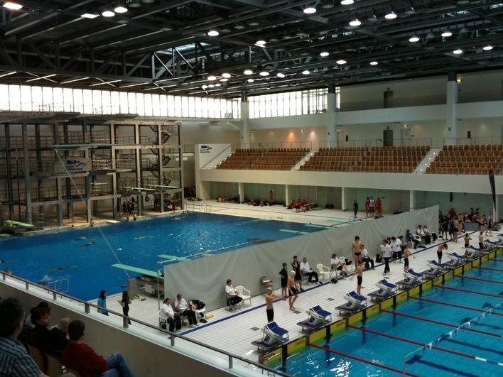 SSE Schwimmhalle und Sprunghalle an der Landsberger Allee