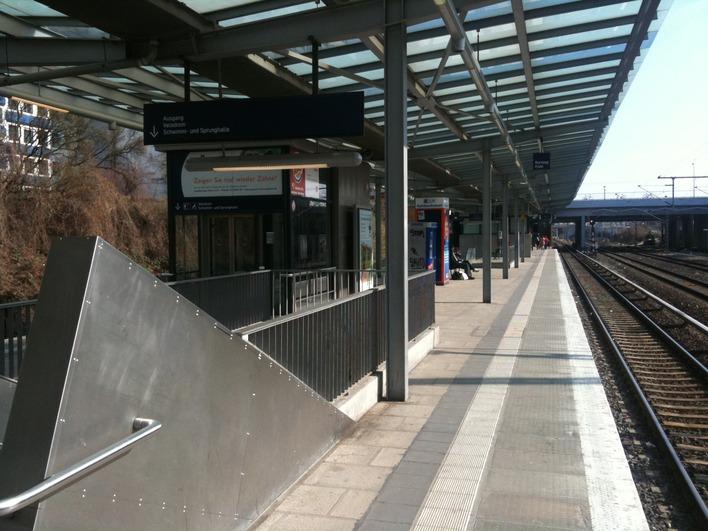 Fotofix auf dem S-Bahnhof Landsberger Allee