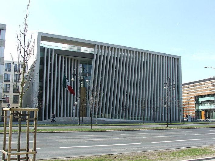 Die Botschaft der Vereinigten Mexikanischen Staaten in Berlin