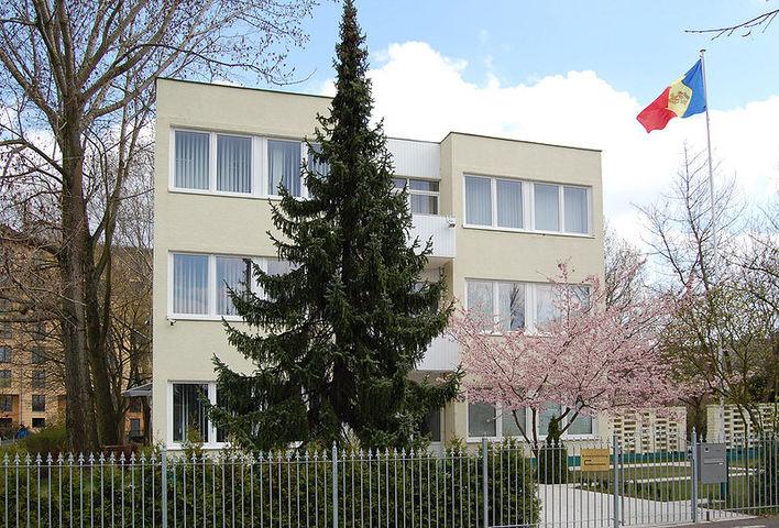Die Botschaft der Republik Moldau in Berlin