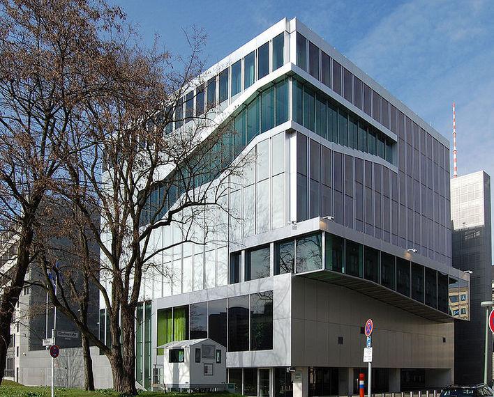 Die Botschaft des Königreichs der Niederlande in Berlin