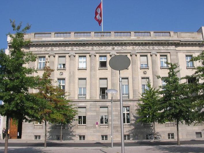 Die Botschaft der Schweizerischen Eidgenossenschaft  in Berlin