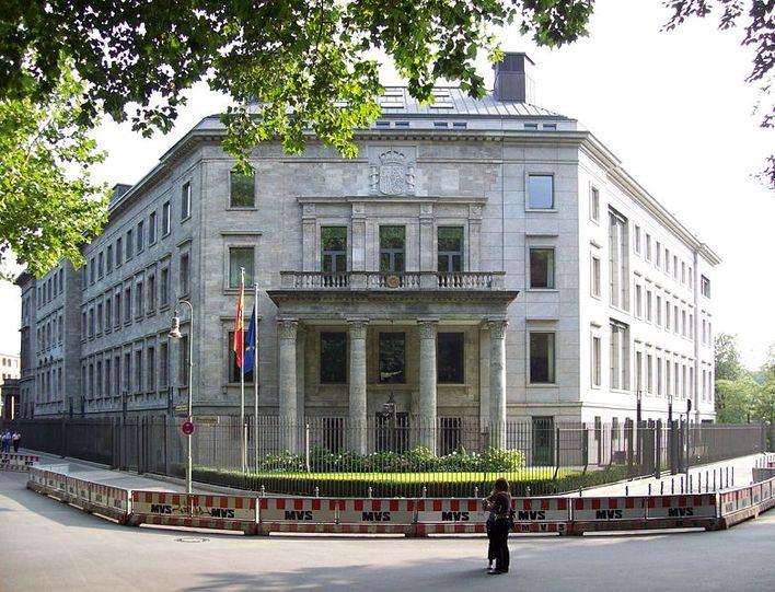 Die Botschaft von Spanien in Berlin