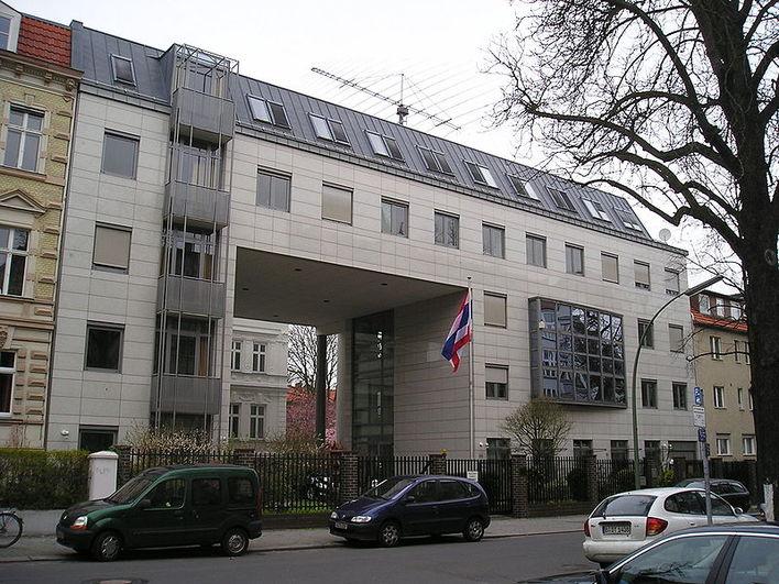Die Botschaft von Thailand in Berlin