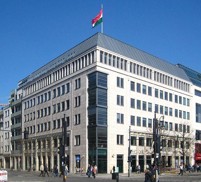 Die Botschaft von Ungarn in Berlin