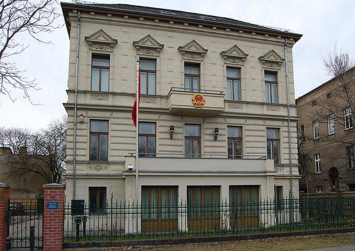 Die Botschaft von Vietnam in Berlin