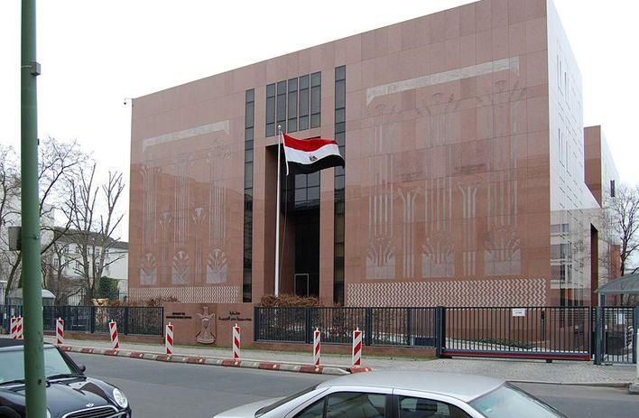 Die Botschaft von Ägypten in Berlin