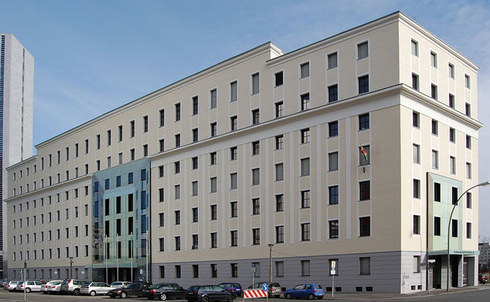 Die Botschaft von Aserbaidschan in Berlin