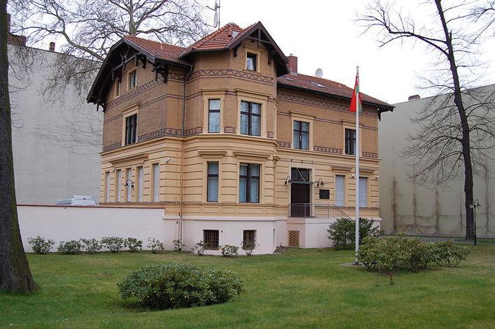 Die Botschaft von Belarus in Berlin