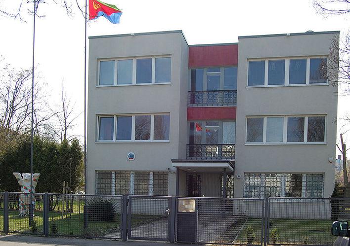Die Botschaft von Eritrea in Berlin