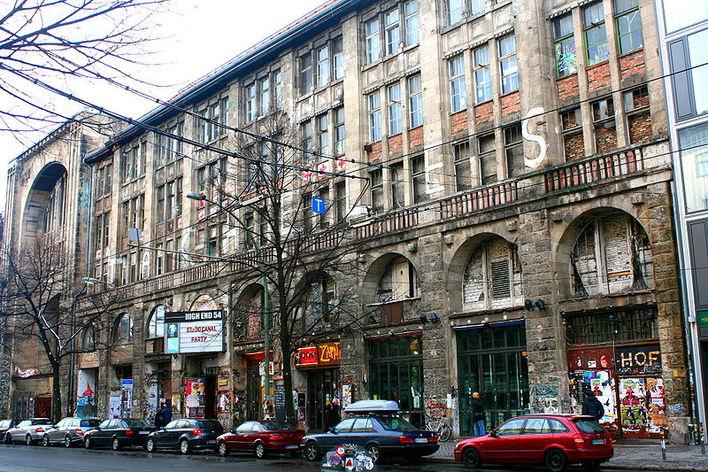 Kunsthaus Tacheles, Oranienburger Straße, Berlin