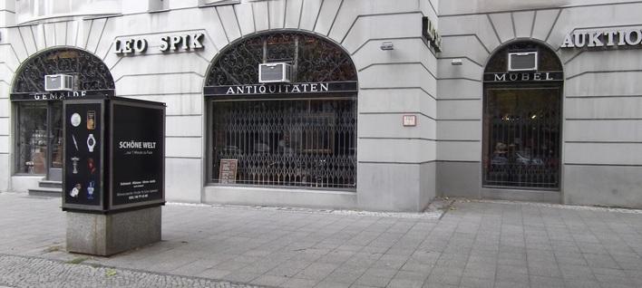 Kunstauktionshaus  LEO SPIK am Kurfürstendamm