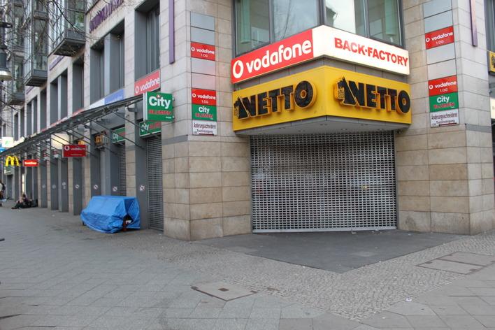 Netto Supermarkt an der Schönhauser Allee