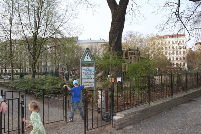 Spielplatz Kollwitzplatz