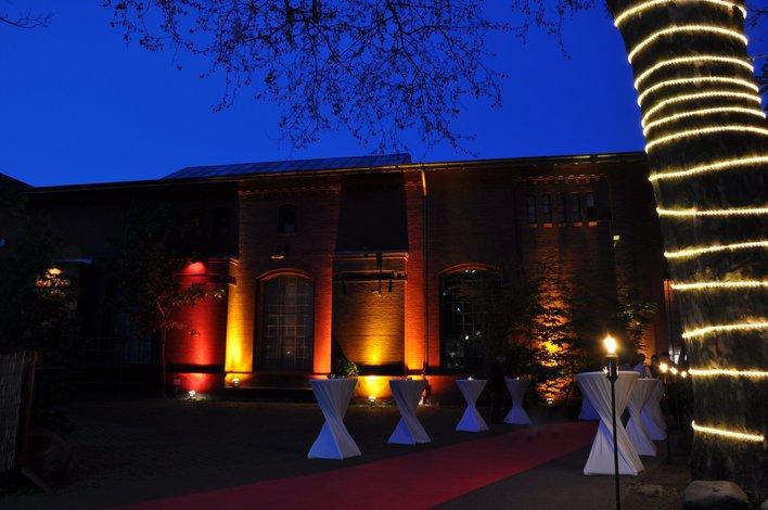 Die Eventlocation Universal Hall befindet sich zentral in Berlin-Moabit.