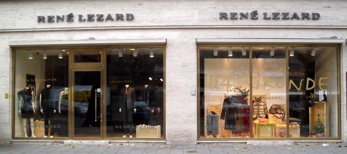 RENÉ LEZARD am Kurfürstendamm