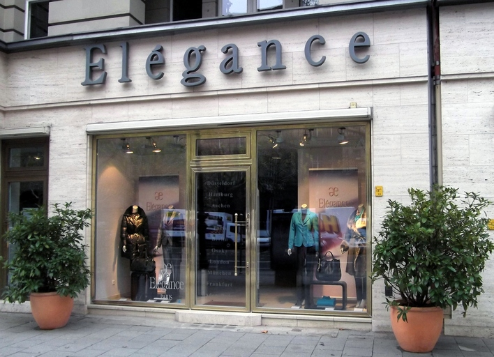 Elégance Boutique am Kurfürstendamm