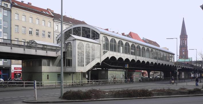 U-Bahnhof Görlitzer Bahnhof (U1)