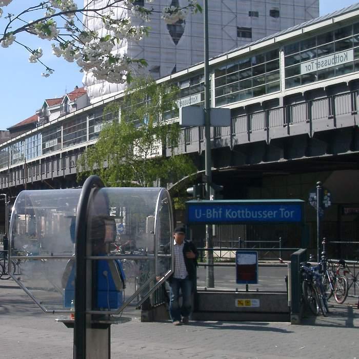 U-Bahnhof Kottbusser Tor (U1, U8)