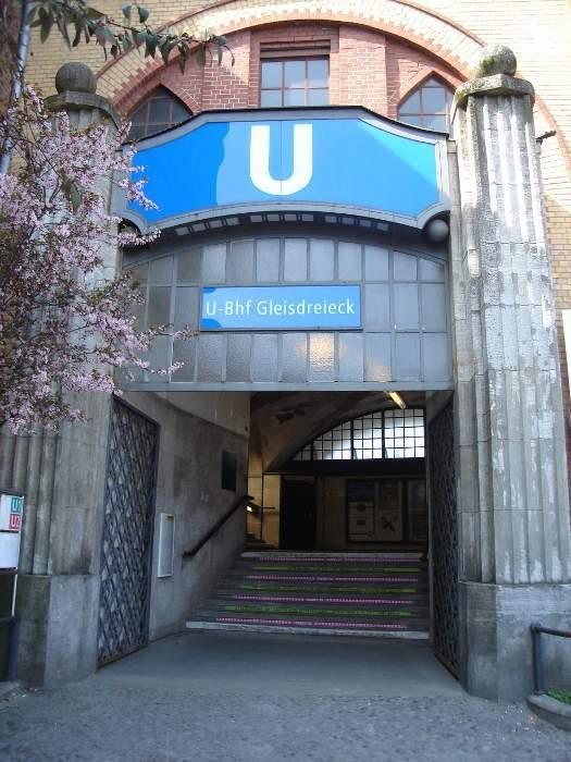 U-Bahnhof Gleisdreieck (U1, U2)